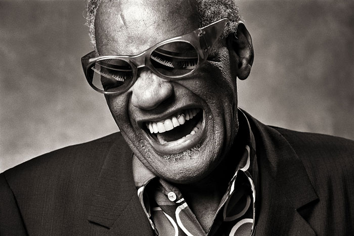 Foto Norman Seeff, Ray Charles, 1985