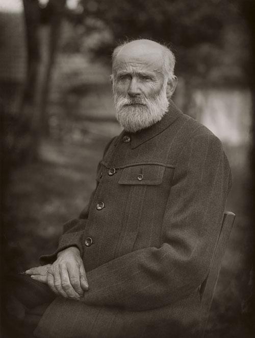 Foto August Sander, Bauer, 1912