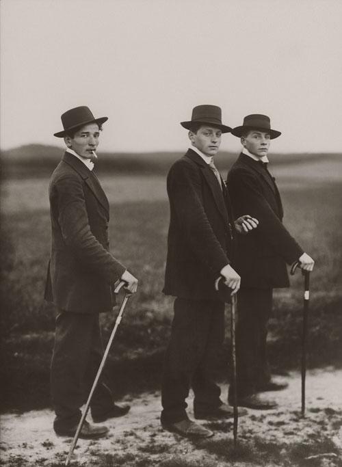 Foto August Sander, Jungbauern, 1914