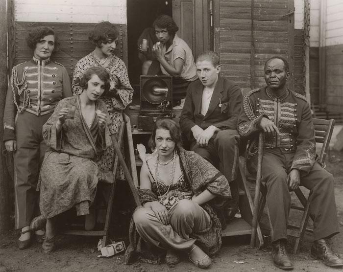 Foto August Sander, Zirkusartisten, 1926–1932
