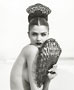 Foto Herb Ritts, Helena With Fan 1, Malibu, 1996