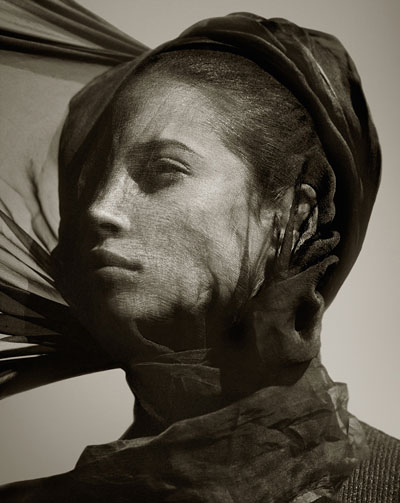Foto Albert Watson, Christy Turlington, Egypt