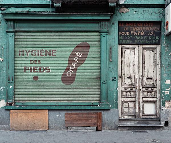 Foto Stephan Vanfleteren, Hygiene des pieds, 2005