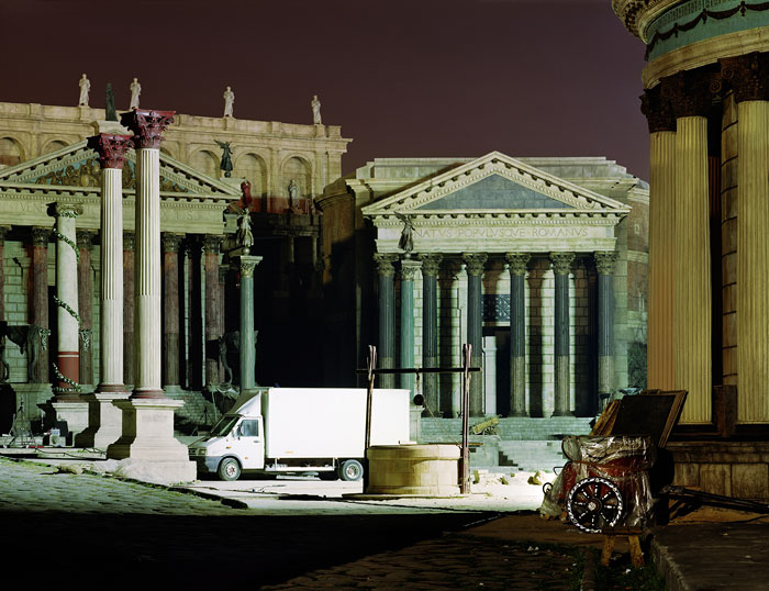 Foto Alfred Seiland, Rome, Filmset, Cinecittà-Studios, Rom, Italien, 2006