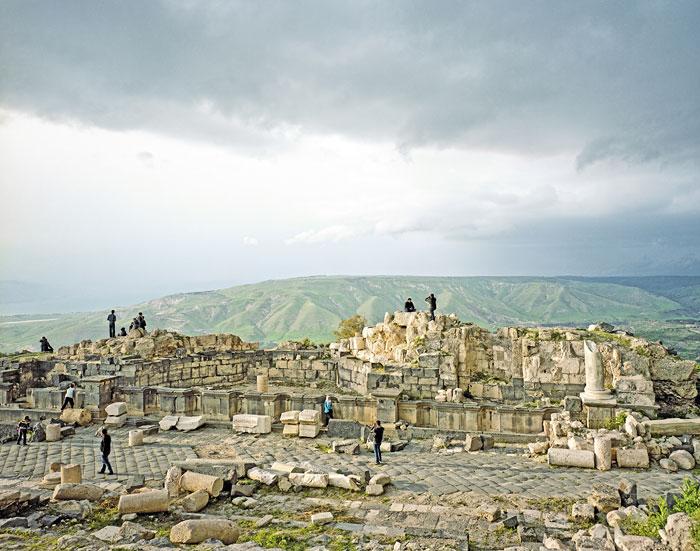 Foto Alfred Seiland, Umm Qais, Gadara, Jordanien, 2009