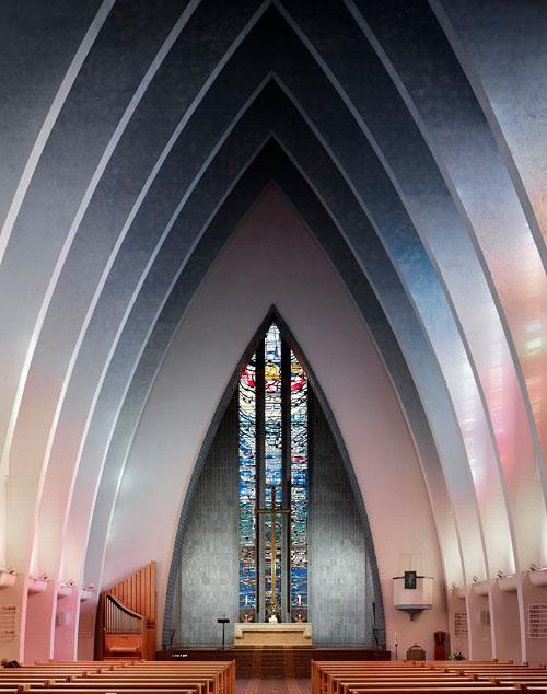 Fabrice Fouillet, Kirche am Hohenzollernplatz, Série/Reeks «Corpus Christi» (2012/2013)