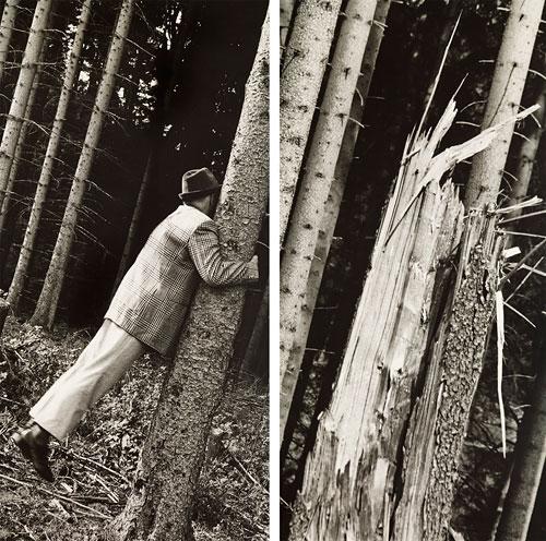 Foto Blume, Anna & Bernhard, Metaphysik ist Männersache (Detail), 1991