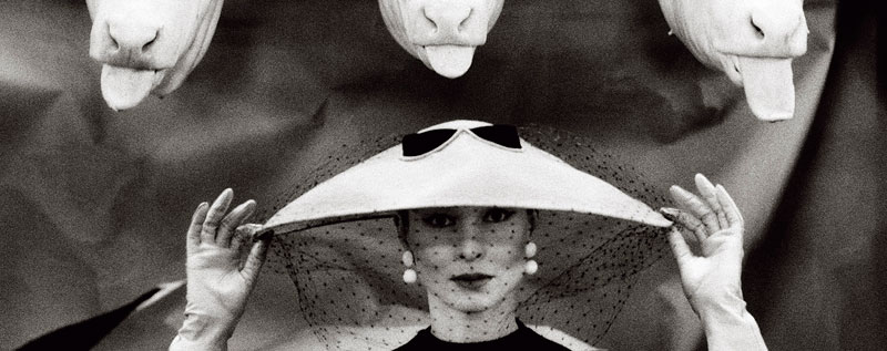 Foto Guy Bourdin, Vogue France, Februar 1955