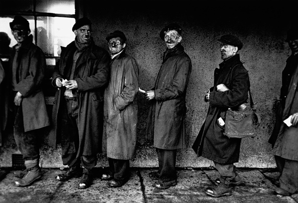 Robert Frank: Welsh Miners