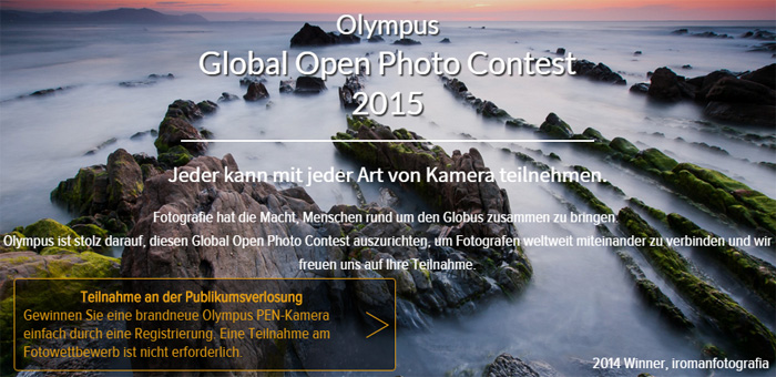 Olympus Global Open Photo Contest