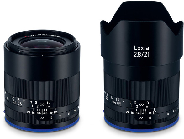 Zeiss: Loxia 2.8/21