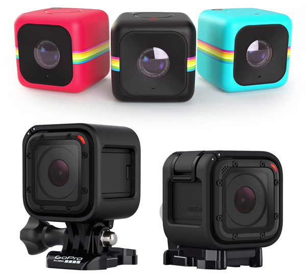 Polaroid Actioncam Cube+ vs. GoPro Hero4 Session