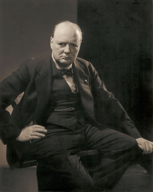 Foto Edward Steichen, Winston Churchill, 1932