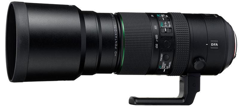 Foto HD Pentax-D FA 4,5~5,6/150-450mm ED DC AW
