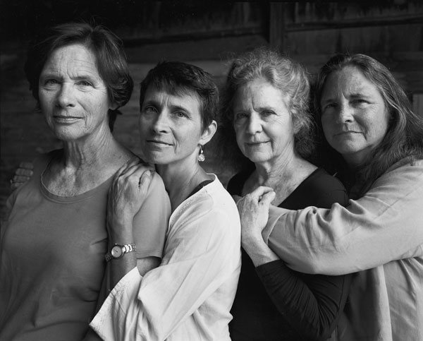 Foto Nicholas Nixon, The Brown Sisters, Wellfleet, Massachusetts, 2014