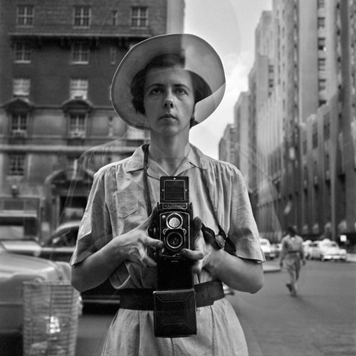 Foto Vivian Maier, New York, 10. September 1955