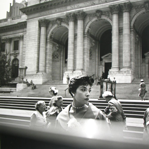 Foto Vivian Maier, New York Public Library, New York, ca. 1952