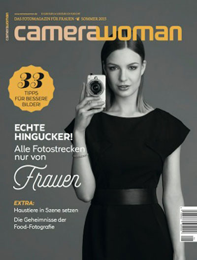 Cover camerawoman