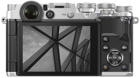 Olympus PEN-F: Display