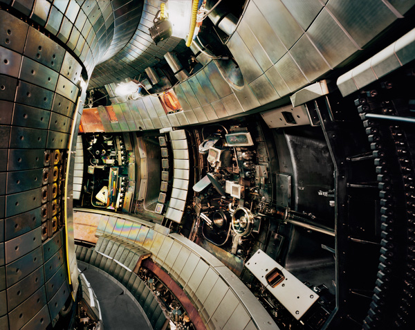 Tokamak Asdex Upgrade Interior 2