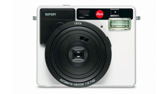 Leica wieder analog: Sofortbildkamera SOFORT vorgestellt