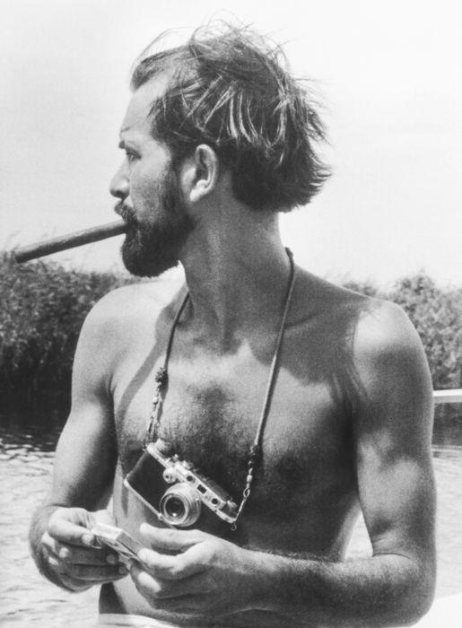 Alberto Korda mit seiner Leica M2.