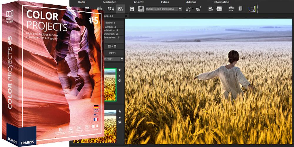 Color projects 5: Filter für farbenfrohe Verfremdungen