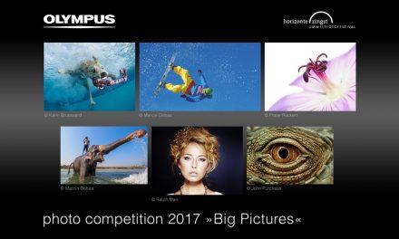 Olympus startet Fotowettbewerb Big Pictures 2017