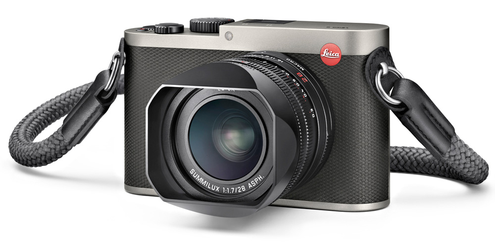Leica Q (Typ 116) in Titanfarbe