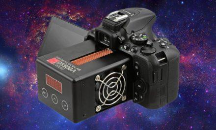 Für Astrofotografie: Nikon D5500a mit aktiver Kühlung