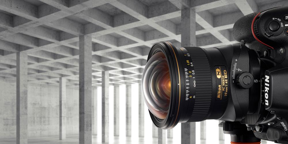 Nikon bringt Tilt-Shift-Objektiv PC Nikkor 19 mm 1:4E ED