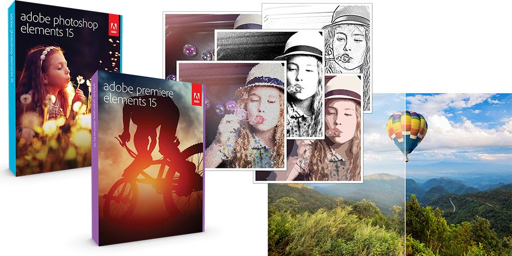 Adobe veröffentlicht Photoshop Elements 15 und Premiere Elements 15