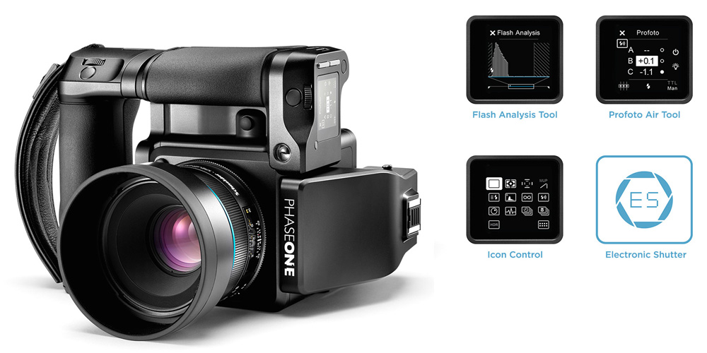 Phase One wertet XF-Kamerasystem mit Feature Update auf