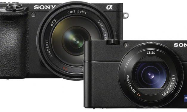 Neu von Sony: Alpha 6500 und RX100 V