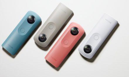 Neue 360-Grad-Kamera: Ricoh Theta SC