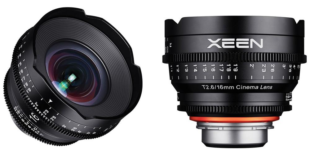 Samyang bringt XEEN 16mm T2.6 Cine-Objektiv
