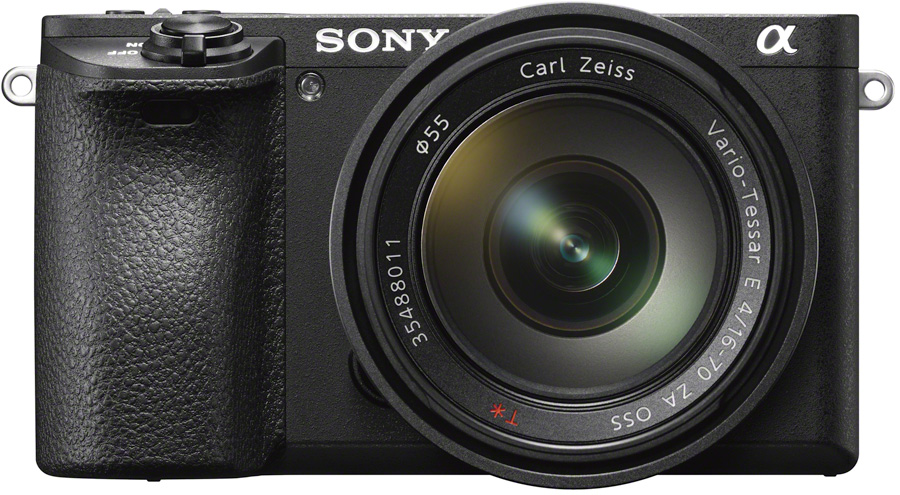 Sony Alpha 6500 Front