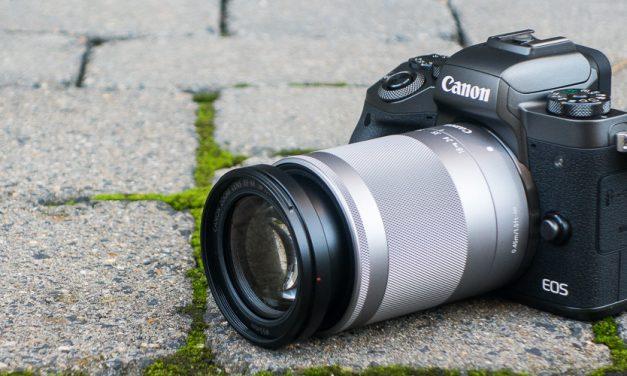 Canon EOS M5 kurz ausprobiert