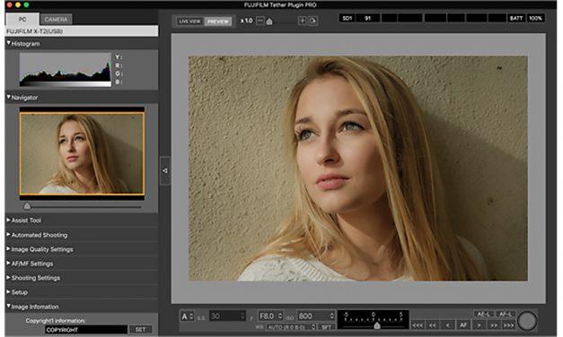 Fujifilm bringt Update für Lightroom-Tethering-Plugin mit Unterstützung der X-Pro 2