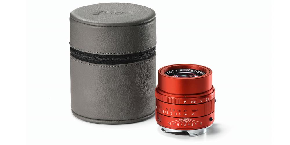 Leica stellt APO-Summicron-M 1:2/50 mm ASPH. in Rot vor