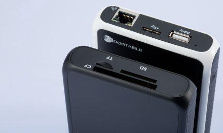 Portabler Fotospeicher MPortable II vorgestellt
