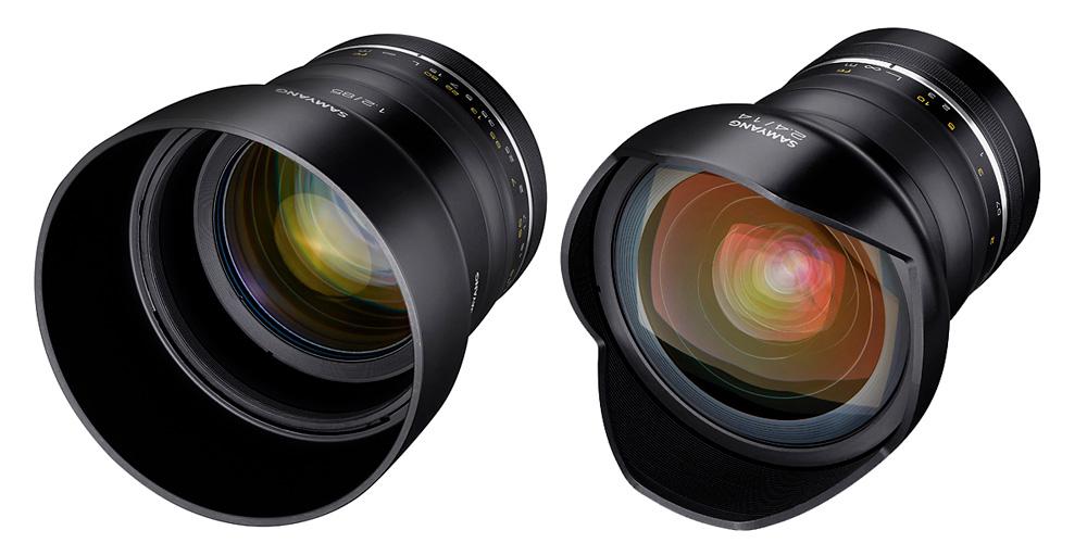 Neu für Canon EF: Samyang XP 85mm F1.2 und XP 14mm F2.4