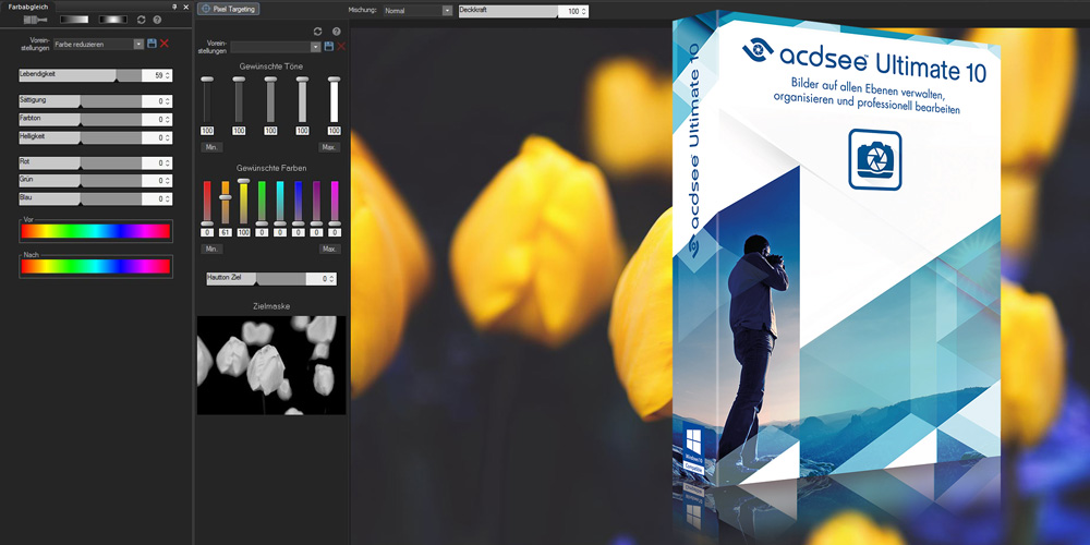 Photoshop-Alternative: ACDSee Ultimate 10 vorgestellt