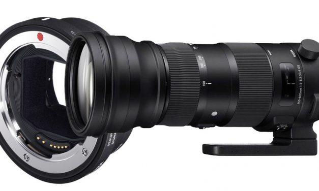 Firmware-Update für Sigma 150–600mm F5-6.3 DG OS HSM und MC-11