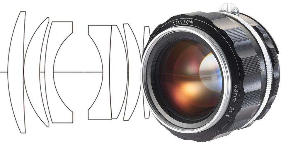 Voigtländer Nokton 1,4/ 58 mm SL II S für Nikon