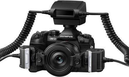 Olympus bringt Makroblitz STF-8 und nennt Preis der OM-D E-M1 Mark II