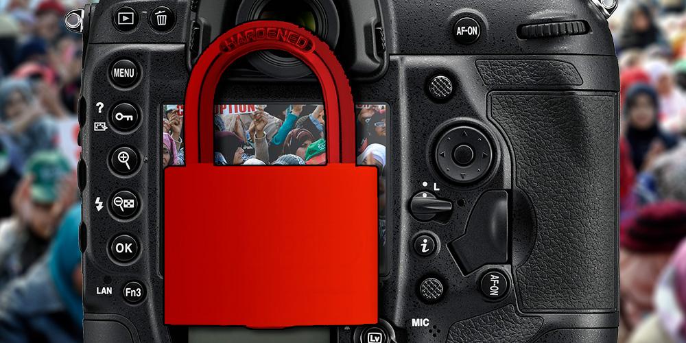 Fotojournalisten fordern: Kamerahersteller sollen Aufnahmen verschlüsseln