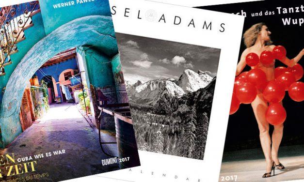 Kuba, Köln, Hongkong und mehr: Fotokalender für das Jahr 2017