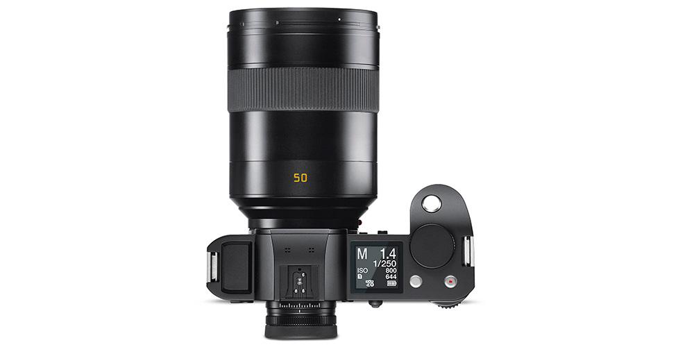 Neu für Leica SL: Objektiv 1:1,4/50 mm ASPH. und Firmware 2.2