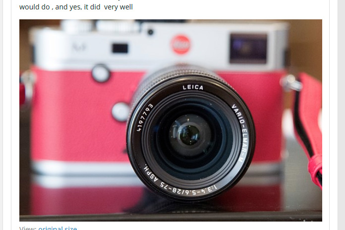 Leica Vario-Elmar-M 28-75mm